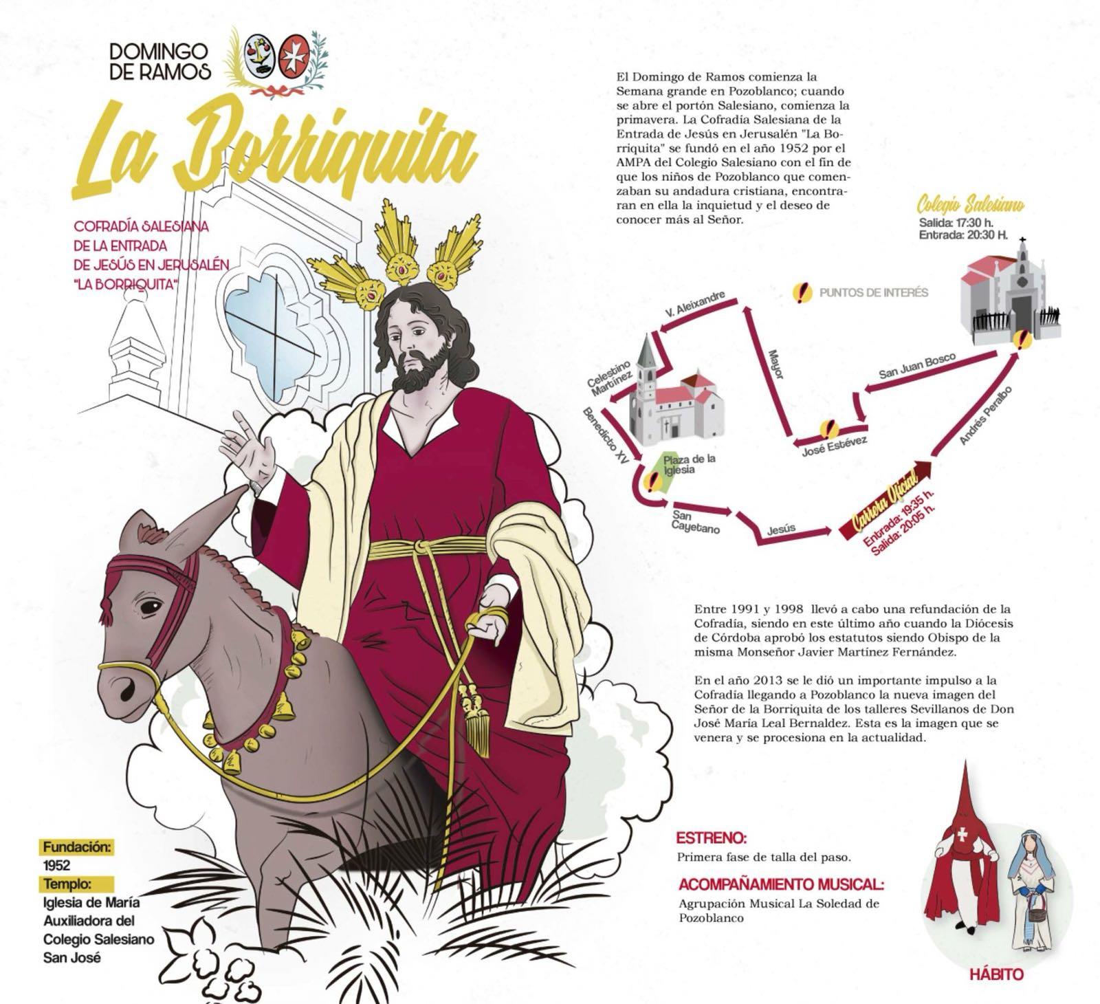 Domingo de Ramos en Pozoblanco - La Borriguita