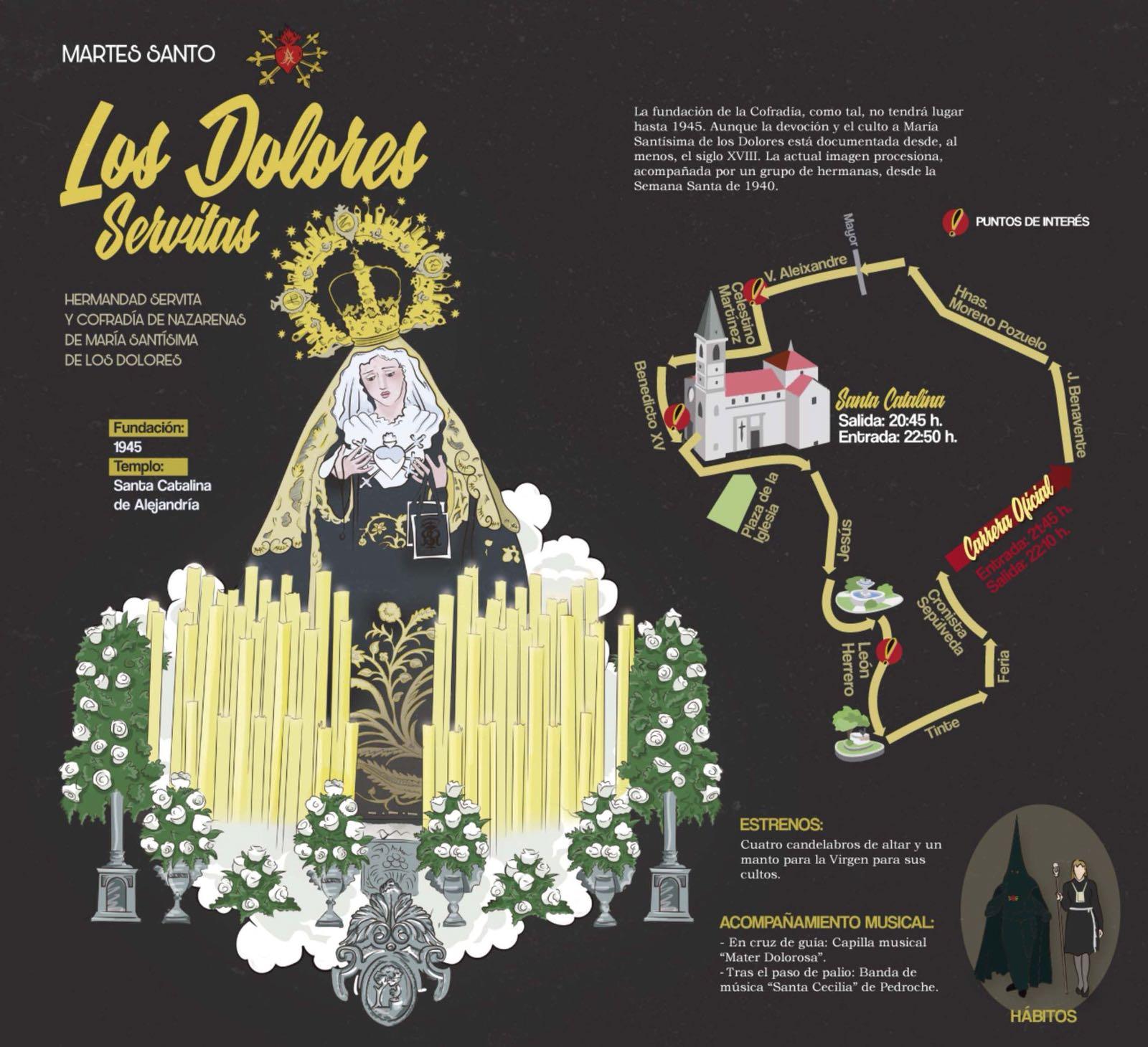 Martes Santo - Los Dolores Servitas