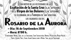 Cultos Hermandad Soledad 2018