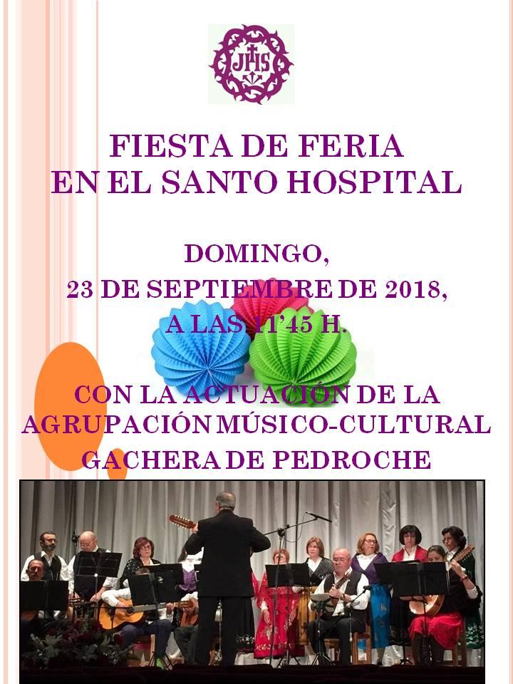 Fiesta de Feria de la Hermandad de Jesus Nazareno de Pozoblanco 2018