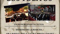Concierto Santa Cecilia Los Tolitos 2018