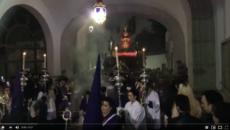El Rescatado Pozoblanco - Paso por el arco del Ayuntamiento - Semana Santa 2018