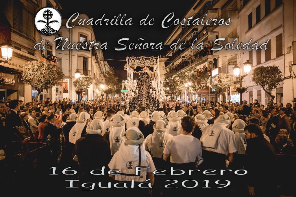 Igualá costaleros Soledad 2019