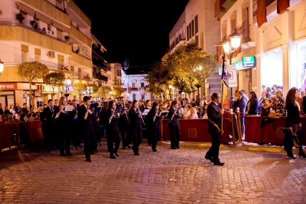 Los Dolores Servitas renuevan a la Banda de Santa Cecilia