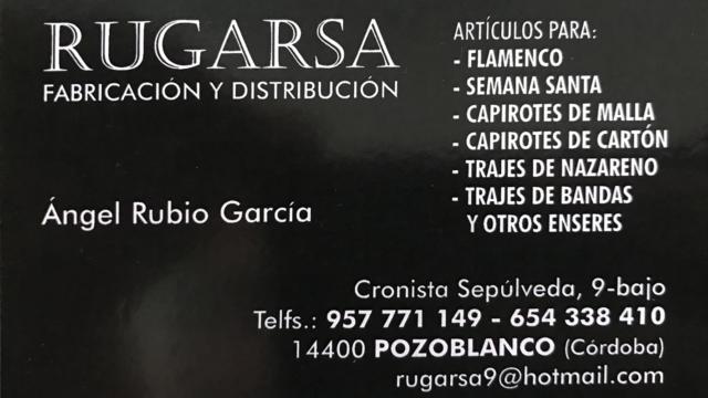 RUGARSA - Pozoblanco
