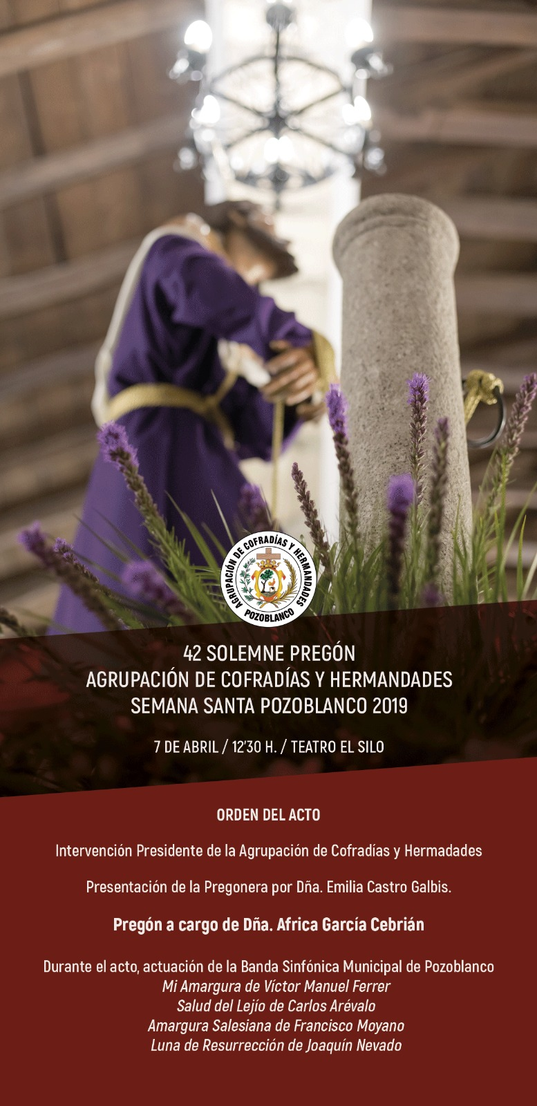 42 Pregon de Semana Santa Pozoblanco 2019