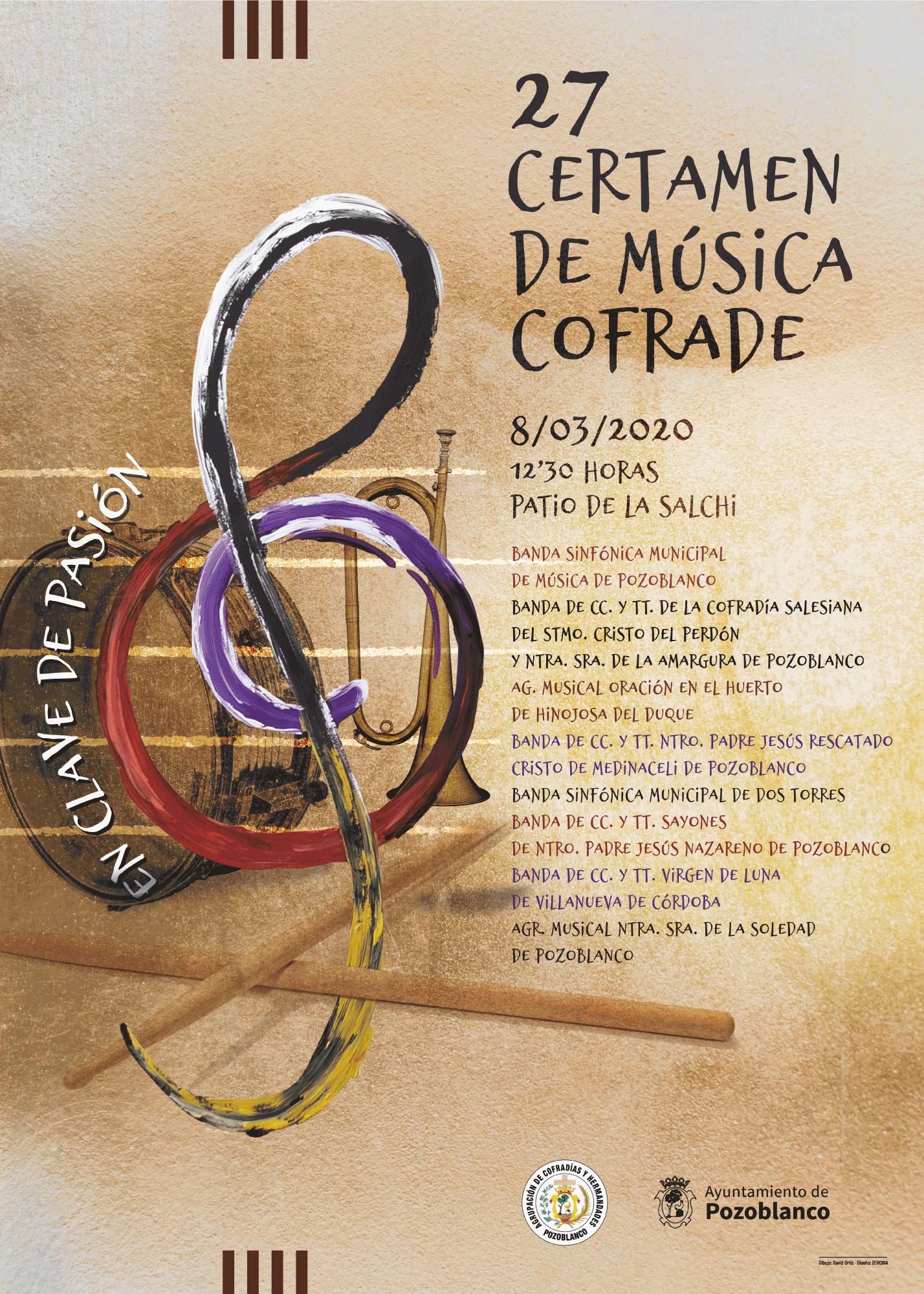 XXVII Certamen de Música Cofrade Pozoblanco 2020